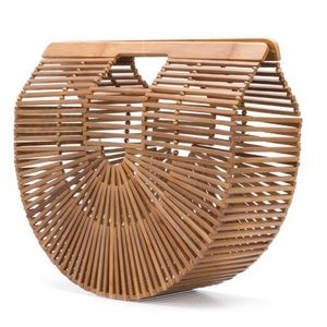 New Arc Bamboo Clutch